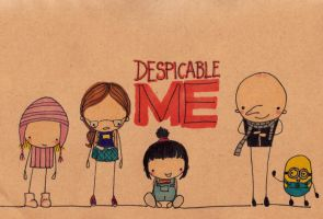 Despicable Me by Pinkie-Perfect
