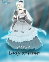 Ciela! Lady of Time! (Art Trade) by RunnerGuitar