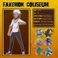Fakemon Coliseum: Jasser by El-Dark-Core