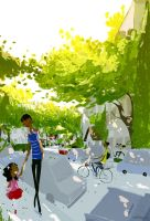 Spring Morning by PascalCampion