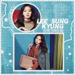 Photopack 1200 // Lee Sung Kyung. by xAsianPhotopacks