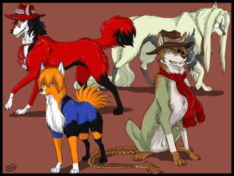 PPCM - Hellsing wolves by Do-El