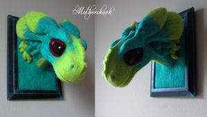 Needle felt Dragon by Mothershark