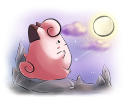 PKM - Clefairy by Wingsie