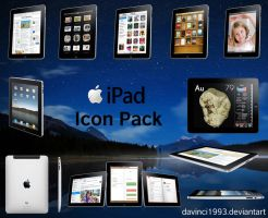 Apple iPad Icon Pack by davinci1993
