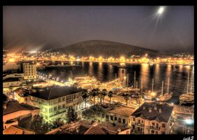 A Night at Cesme II HDR by ISIK5