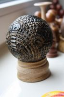 wood ball by U140
