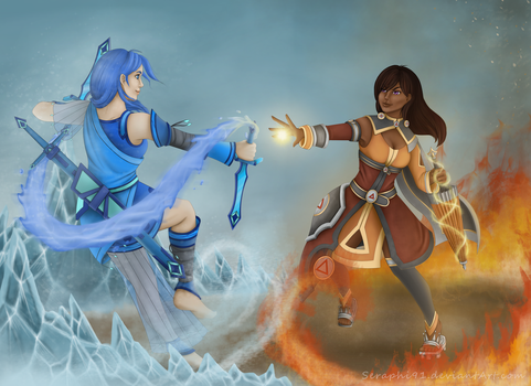 CE - Dance of ice and fire by Seraphi91