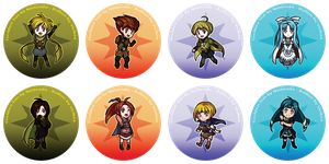 Golden Sun - Buttons by Velkia