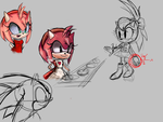 Old sketches by AvannahTheHedgehog