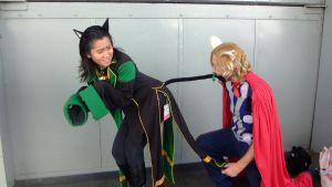 Anime Expo 2012-Loki and Thor 7 by coolpizza16