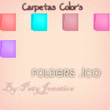 Folders Colors' .ico by PatyJonatica