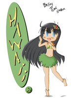 Chibi Hawaii Diary cover by SparxPunx