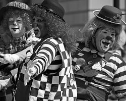 Just Clowning Around 5 by MeKamalaPhotography
