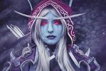 Namie - Sylvanas Cosplay - World of Warcraft by YozhikandNamie