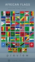 African flags by alpak