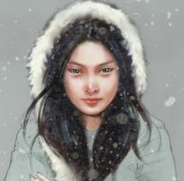 SNOW GIRL by Jungshan