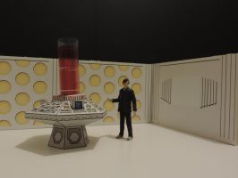 ELEVEN in TARDIS WHITE ROOM by darkmaul99