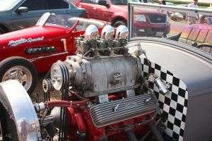 Blown Hot Rod-Engine by StallionDesigns