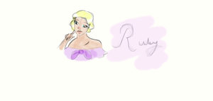 1930's own character: Ruby by Thehighwaygirl