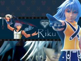 kingdom hearts riku by LumenArtist