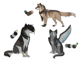 Adoptables auction CLOSED by Adoptis