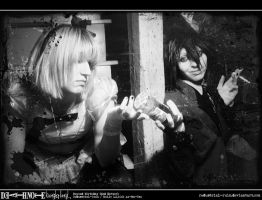 Death Note Cosplay: Wonderland: From the Lost Days by Redustrial-Ruin