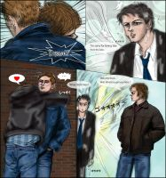 SPN gag manga:The Return of Cas From S7.08 by noji1203