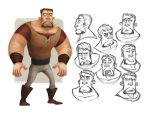 The Burly Guy by sidd16