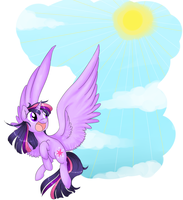 Twilight Flying by theluckyangel