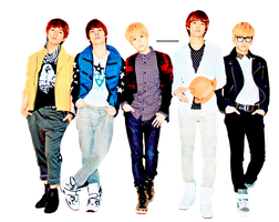 PNG : Shinee by chazzief