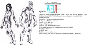 WEIJI Minor Races: Synthetics by Kaptain-Kefiah