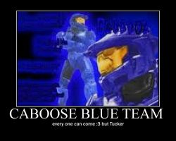 Caboose Blue Team by jason-the-13th