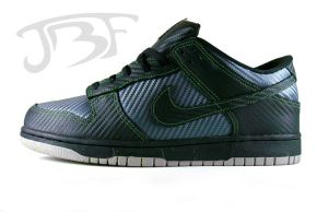Carbon Fiber Dunk Low by JBF by JBFcustoms