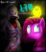 Pinkamena  plays  -Amnesia- by rocioam7