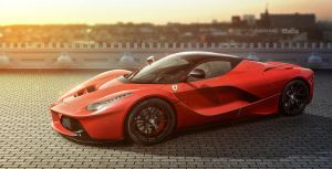 Sunkissed LaFerrari by jackdarton