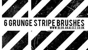 Grunge line brushes by akaleez88