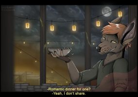 .:Romantic Dinner For One:. by LikelyLupine