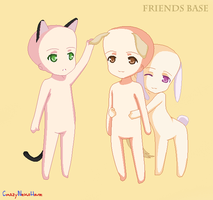 Friends :BASE: by milky-pixels