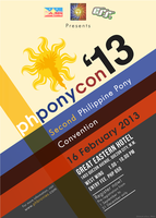 PHPonyCon 2013 Poster by buckweiser