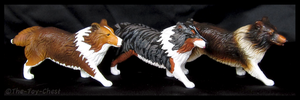 Breyer Companion Animals - Shetland Sheepdogs by The-Toy-Chest
