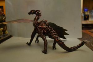 BLACK DRAGON sculpt- better pic by SkekLa
