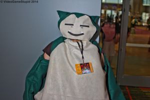 ConnectiCon 2014 - Snorlax by VideoGameStupid