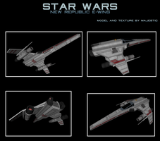 FreiTek E-wing by Majestic-MSFC