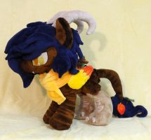 Aurum Plushie :OC Commission: by AppleDew