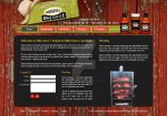 Ms. Sassy's BBQ Sauce - Website Mockup by Every1sDream
