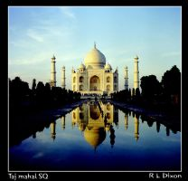 Taj mahal SQ by richardldixon