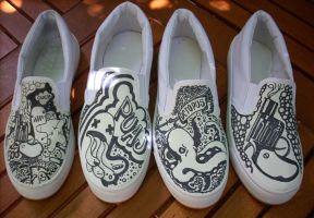 Custom shoes by surfender