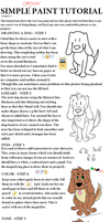 Simple Dog tutorial - windows 7 paint by ConkerTSquirrel