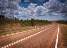 Road into the Outback by da-phil